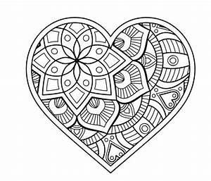 Malvorlage Herz Mandala Pinterest Herz Malvorlage