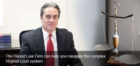 harold law firm trial lawyer  counselor  law