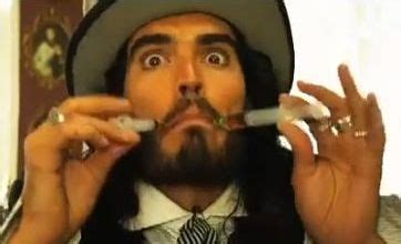 russell brand just say yes russell brand frolics with naked women in raunchy new
