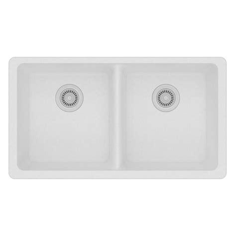 quartz undermount kitchen sinks elkay quartz classic undermount composite 32 5 in 4476