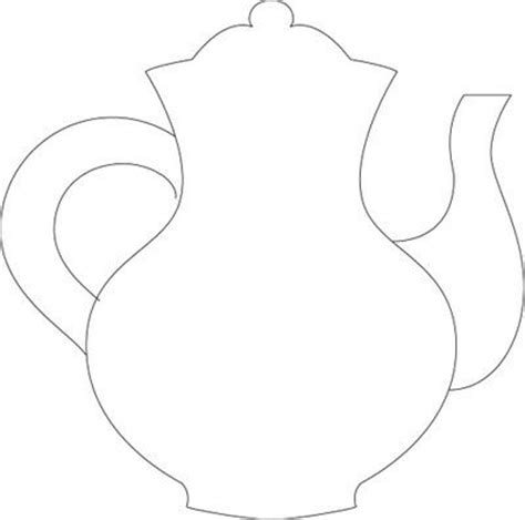 teapot template 27 best templates images on tea pots templates and bow template