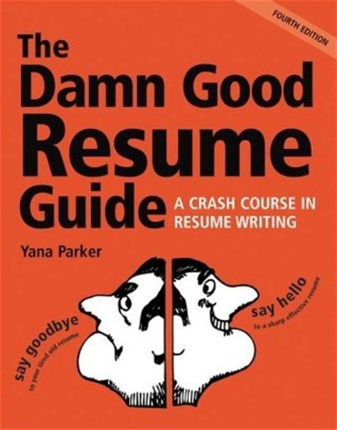 the damn resume guide a crash course in resume