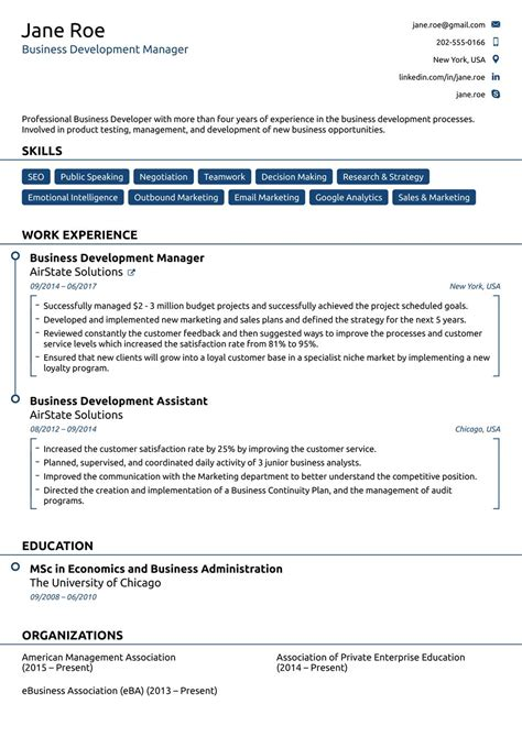 Executive Resume Layout by 60 Awesome Executive Resume Layout With Gallery