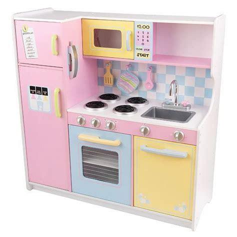 toddler play kitchen kidkraft large pastel wooden play kitchen childrens