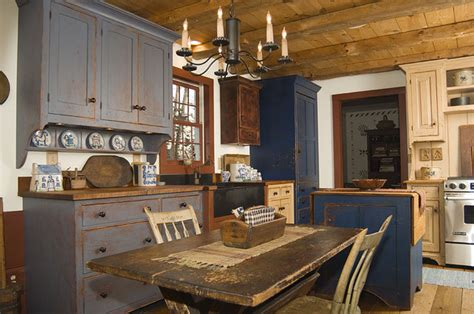 Curved Ceiling Track by Reproduction Peoria Il Saltbox House Rustic Kitchen