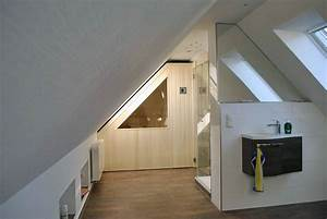 Kleine Sauna Für Zuhause : sauna unter einer dachschr ge apart sauna ihre ~ Michelbontemps.com Haus und Dekorationen