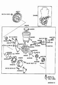 Toyota Corolla Gasket Kit  Power Steering Pump  Brakes