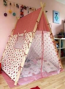 Zelt Kinderzimmer Nähen : ber ideen zu kinder zelte auf pinterest spielzelte tipis und kinderspielzeug ~ Markanthonyermac.com Haus und Dekorationen