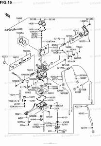 Suzuki Motorcycle 2006 Oem Parts Diagram For Carburetor