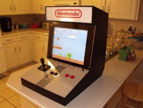 Build A Nintendo Arcade To Get Your Old School Game On