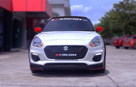 custom  suzuki swift  zercon body kit front