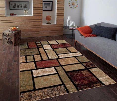 Living Room With Burgundy Rug by T1007 Beige Black Green Rust Burgundy 5 2 X 7 2