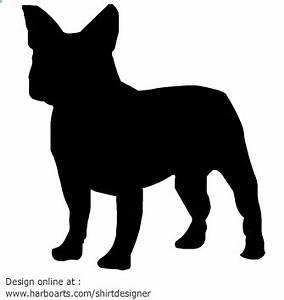 French Bulldog Silhouette Clipart