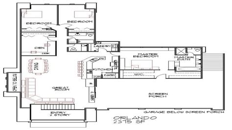 Blueprints 4-bedroom Double Wide Small 4 Bedroom House