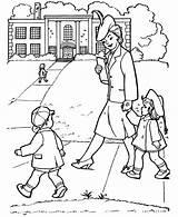 Coloring Parents Gran Pages Netart sketch template