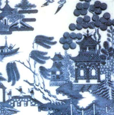 blue willow pattern wallpaper gallery