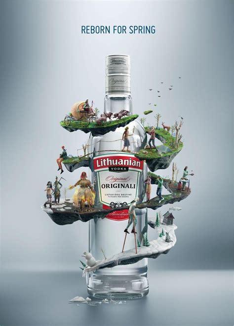 lithuanian vodka spring tale ads   world