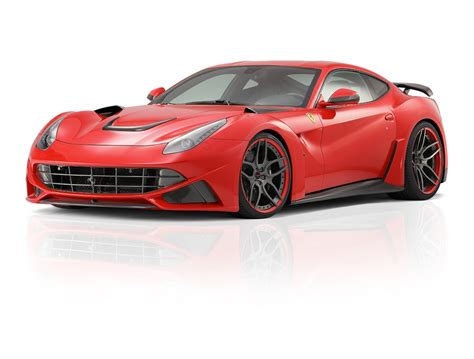 The Novitec Rosso N Largo F12berlinetta Is A Widebody Monster