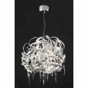 Lustre à Pampilles : lustre design pampilles sur lampe avenue ~ Teatrodelosmanantiales.com Idées de Décoration