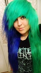 Green Hair on Pinterest