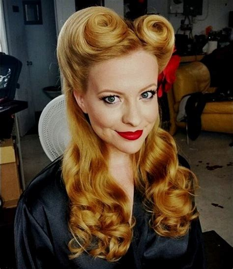 hair pin up style 40 pin up hairstyles for the vintage loving 2637