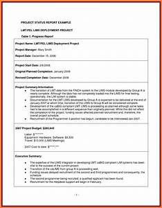 7 project management final report template progress report for Project management final report template