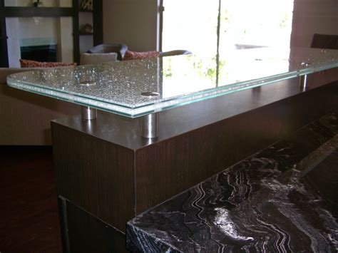tempered glass countertop shattered glass countertops sans soucie glass