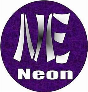 Image Gallery neon symbol