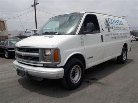 how to sell used cars 1999 chevrolet express 2500 engine control buy used 1999 chevy express no reserve in anaheim california united states