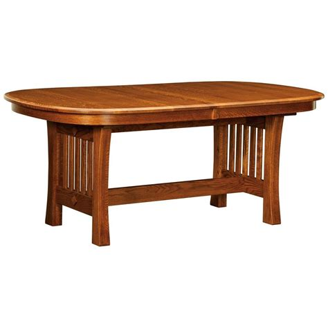 arts and crafts table ls arts crafts dining table trestle table available on