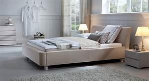 Bett 200x220 Weiß : stoffbett als doppelbett z b in 200x220 erh ltlich andorra ~ Indierocktalk.com Haus und Dekorationen