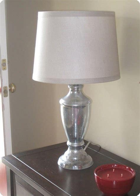 mercury glass lamp knockoffdecorcom