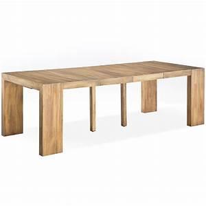 Table Console Extensible Bois : table console extensible ikea occasion ~ Teatrodelosmanantiales.com Idées de Décoration