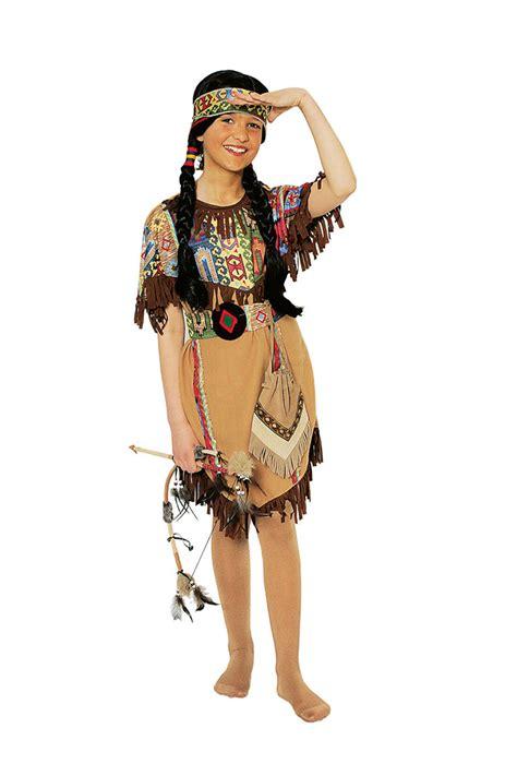 karneval kostüme indianer indianer kost 252 m m 228 dchen kinder mit stirnband indianerin squaw fasching karneval kaufen bei kl