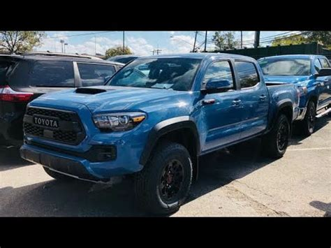 toyota tacoma trd pro walk aroundnew color youtube