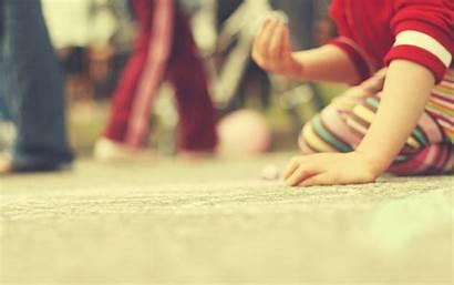 Play Playing Wallpapers Chalk Childhood Macro Themes