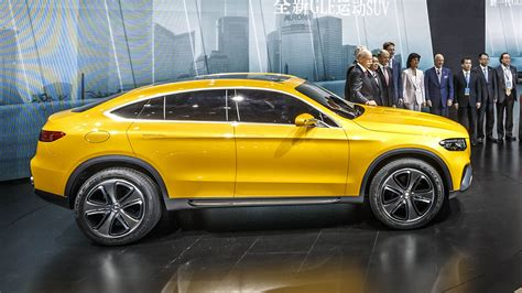 Shanghai 2018 Mercedes Benz Concept Glc Coupe Image 330888