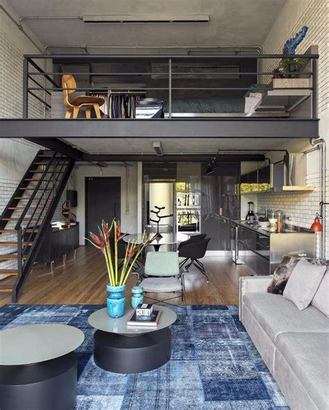 Modern Loft Bedroom Design Ideas by 10 Loft Style Living Room Design Ideas