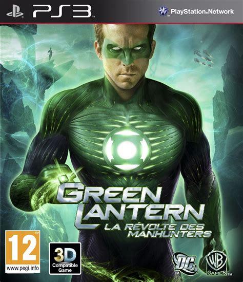 jeux de green lanterne jaquettes green lantern la r 233 volte des manhunters