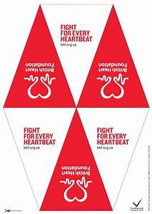 Research Log Template Party Bunting Template For Events British Heart Foundation
