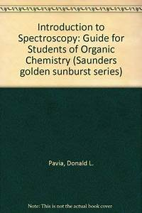 Introduction To Spectroscopy  Guide For Students Of