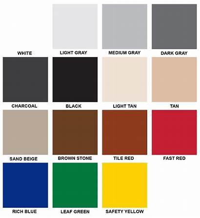 Epoxy Solid Chart Flooring Coating Chicagoland