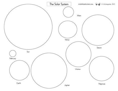 Pin on solar system template