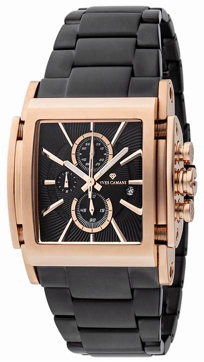Camani Yves Chronograph Stainless Display Date Steel