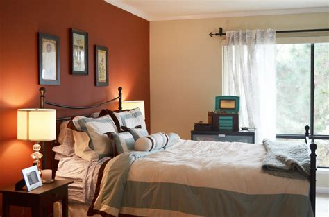 bedroom paint color ideas with accent wall home combo