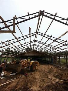 chicken house trusses espotted With 50 ft trusses for sale