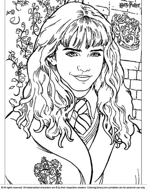 harry potter coloring page burrels bedroom harry