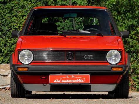 golf 1 gti kaufen volkswagen golf i gti pirelli 1 8 1983 f 252 r 35 000 eur kaufen