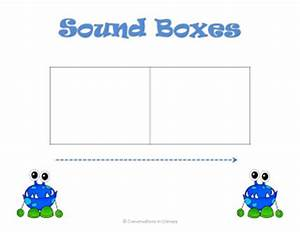 sound boxes freebie With elkonin boxes template