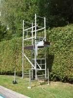 Location échafaudage Particulier : echafaudage de jardin ou taille haies avec double roues et ~ Melissatoandfro.com Idées de Décoration